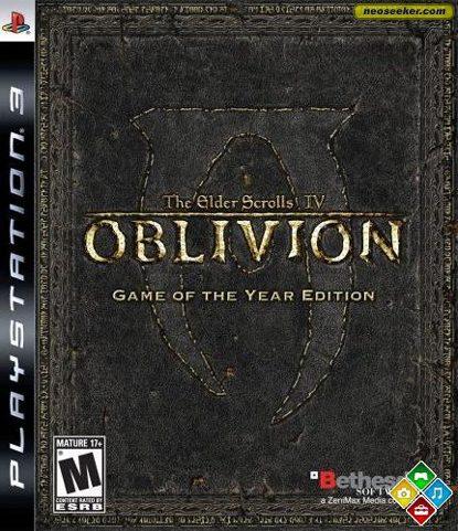 The Elder Scrolls IV: Oblivion - PS3 - NTSC-U (North America)