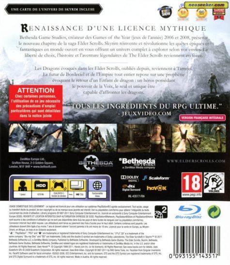 The Elder Scrolls V: Skyrim - PS3 - PAL (Europe)