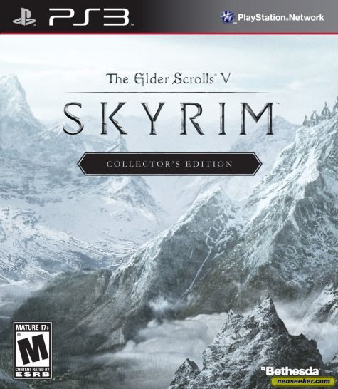 The Elder Scrolls V: Skyrim - PS3 - NTSC-U (North America)