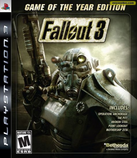 Fallout 3: Game of the Year Edition - PS3 - NTSC-U (North America)