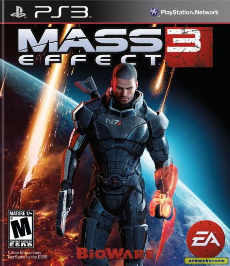 Mass Effect 3 - PS3 - NTSC-U (North America)