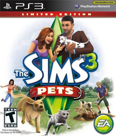 The Sims 3: Pets - PS3 - NTSC-U (North America)