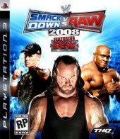 Box shot of WWE SmackDown vs. RAW 2008 [North America]