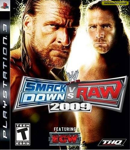 WWE SmackDown vs. RAW 2009 - PS3 - NTSC-U (North America)