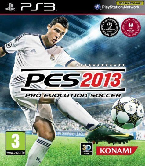 Pro Evolution Soccer 2013 - PS3 - PAL (Europe)