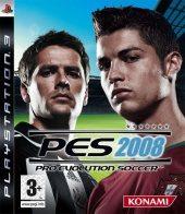 Box shot of Winning Eleven: Pro Evolution Soccer 2008 [Europe]