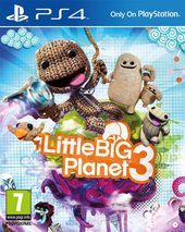 Box shot of LittleBigPlanet 3 [Europe]