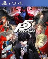 Box shot of Persona 5 [North America]