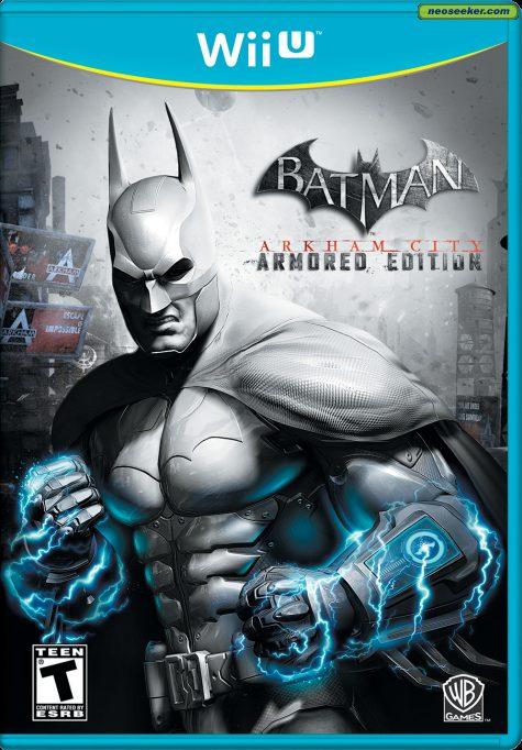Batman: Arkham City - Armored Edition - wii-u - NTSC-U (North America)