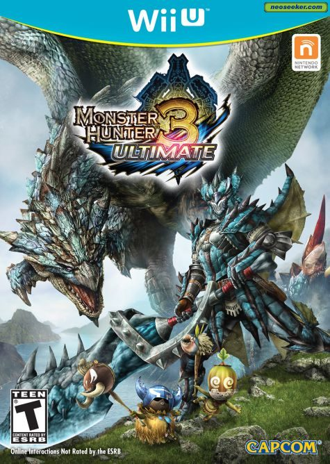 Monster Hunter 3 Ultimate - wii-u - NTSC-U (North America)