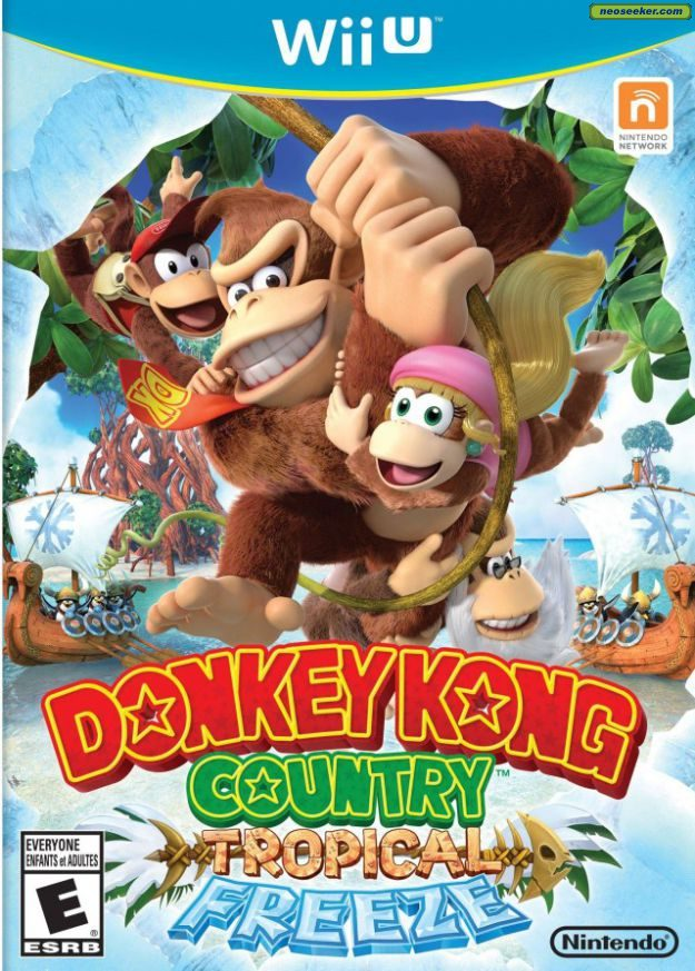 Donkey Kong Country: Tropical Freeze - wii-u - NTSC-U (North America)