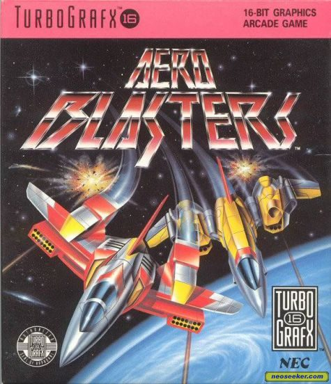 Aero Blasters - tg16 - NTSC-U (North America)
