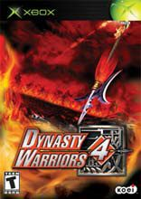 Box shot of Dynasty Warriors 4 [North America]
