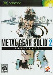 Box shot of Metal Gear Solid 2: Substance [North America]