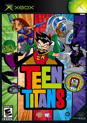 Cheat Codes for Teen Titans on Action Replay MAX.