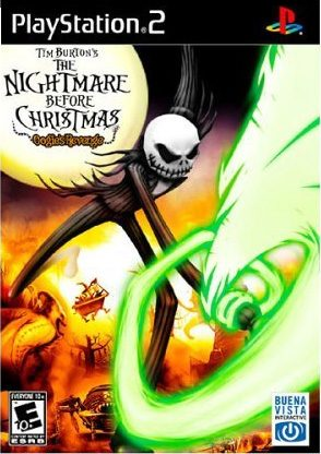 The Nightmare Before Christmas: Oogie's Revenge Xbox Front cover
