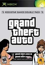Box shot of Grand Theft Auto Double Pack [North America]