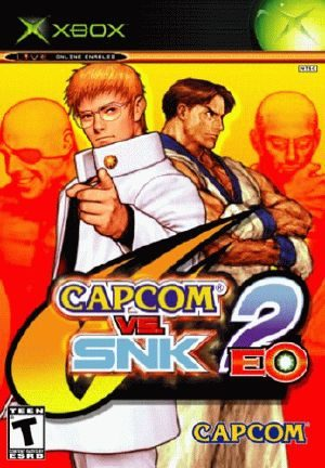 Capcom vs. SNK 2: EO - Xbox - NTSC-U (North America)