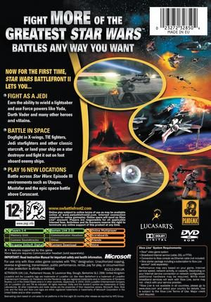 Xbox Star Wars Battlefront 2 Cheats