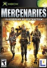Box shot of Mercenaries [North America]