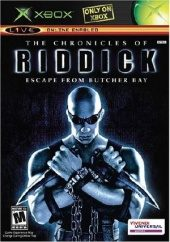 Box shot of The Chronicles of Riddick: Escape From Butcher Bay [North America]