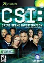 CSI: Crime Scene Investigation - Xbox - NTSC-U (North America)