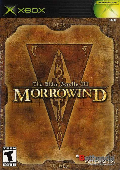The Elder Scrolls III: Morrowind - Xbox - NTSC-U (North America)