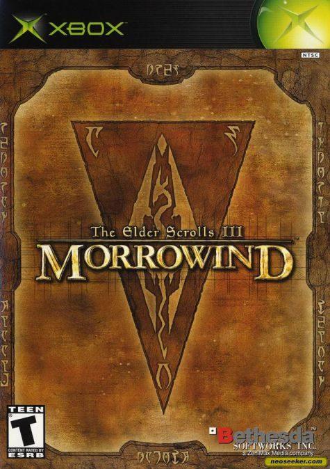 The Elder Scrolls III: Morrowind - Xbox - NTSC-U (North America)