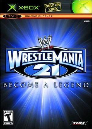 WWE WrestleMania 21 - Xbox - NTSC-U (North America)