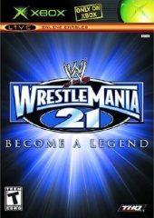 Box shot of WWE WrestleMania 21 [North America]