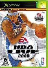 Box shot of NBA Live 2005 [North America]