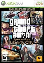 Box shot of Grand Theft Auto: Episodes from Liberty City [North America]