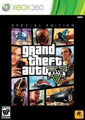 Box shot of Grand Theft Auto V [North America]