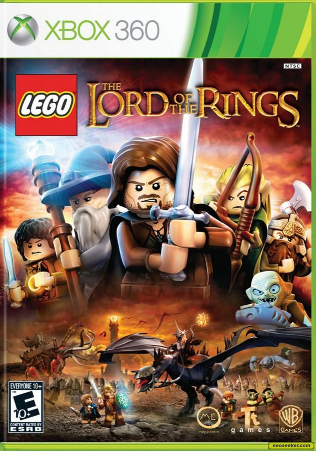 LEGO The Lord of the Rings - XBOX360 - NTSC-U (North America)
