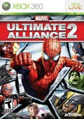 Marvel: Ultimate Alliance 2 (North America Boxshot)
