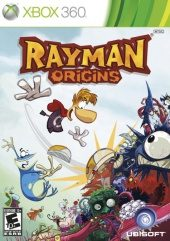 Box shot of Rayman Origins [North America]