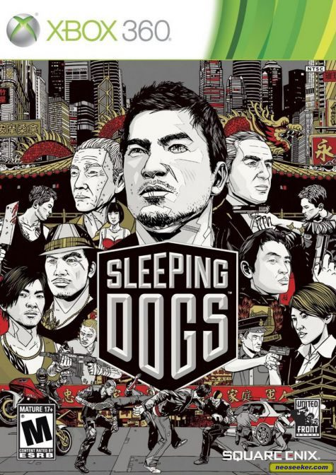 Sleeping Dogs - XBOX360 - NTSC-U (North America)