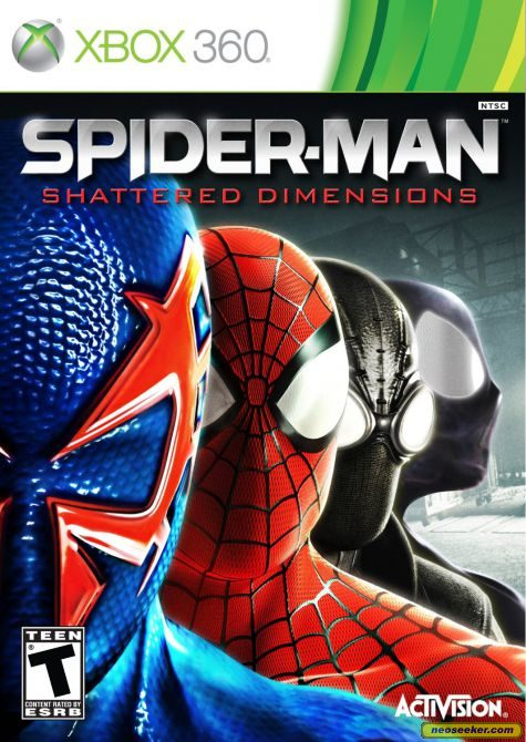 SpiderMan Shattered Dimensions [Region Free/Wave 6][Spanish][4 LINKS]
