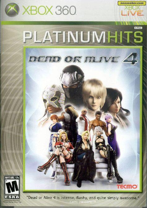 Dead or Alive 4 - XBOX360 - NTSC-U (North America)