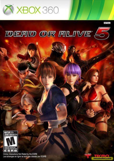 Dead or Alive 5 - XBOX360 - NTSC-U (North America)