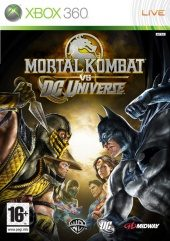 Box shot of Mortal Kombat vs. DC Universe [Europe]