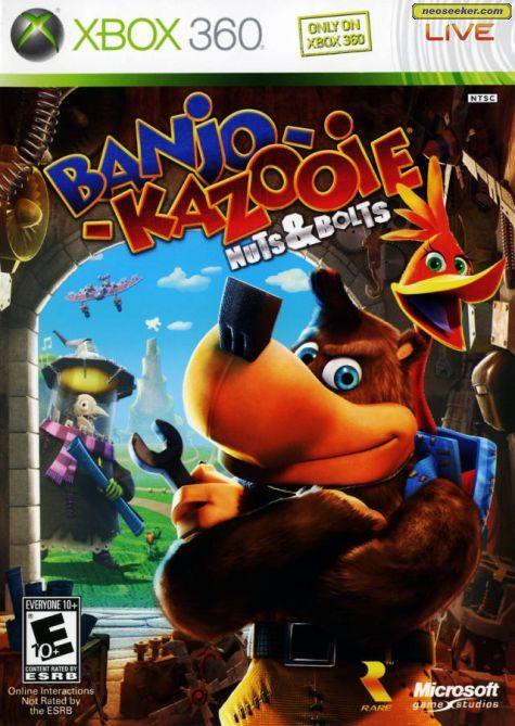 Banjo-Kazooie: Nuts & Bolts - XBOX360 - NTSC-U (North America)