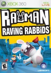 Box shot of Rayman Raving Rabbids [North America]