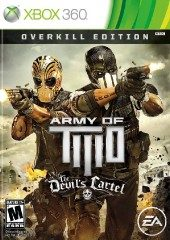 Box shot of Army of Two: The Devil's Cartel [North America]