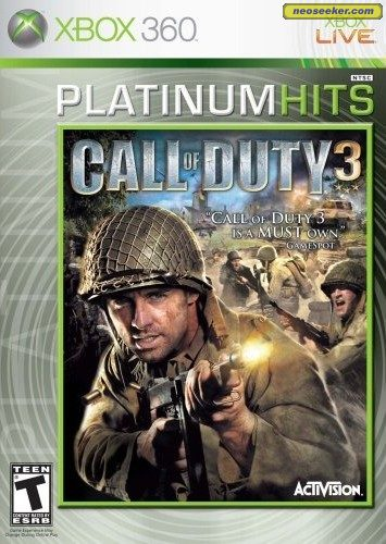 Call of Duty 3 - XBOX360 - NTSC-U (North America)