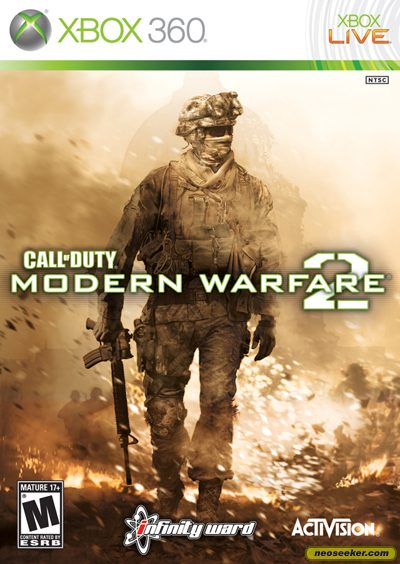 call of duty modern warfare 2 cover xbox 360. Call of Duty: Modern Warfare 2