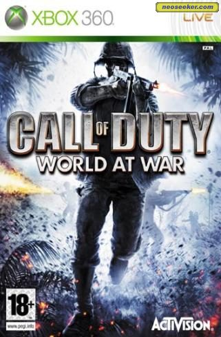 Call of Duty: World at War - XBOX360 - PAL (Europe)