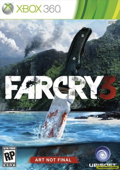 Far Cry 3 XBOX360 Front cover