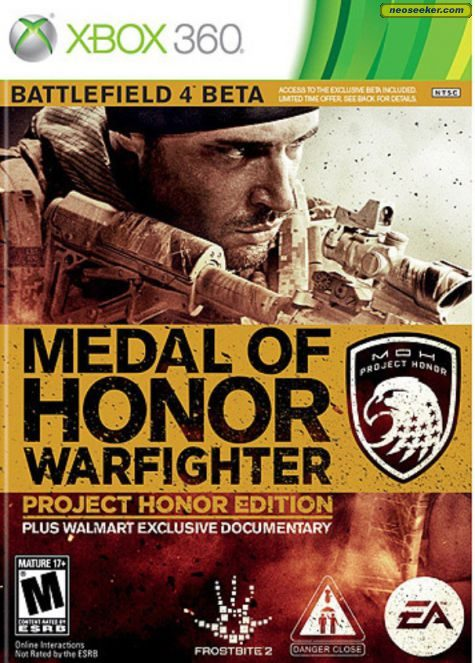 Medal of Honor: Warfighter - XBOX360 - NTSC-U (North America)