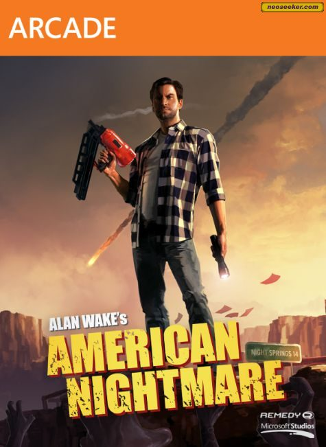 Alan Wake's American Nightmare - XBOX360 - NTSC-U (North America)